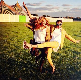 Beyonce & solange_happy pictures 1