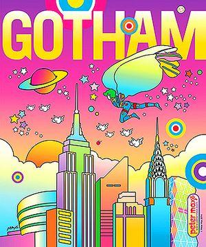 PETER MAX GOTHAM COVER