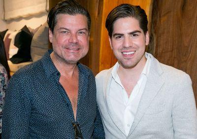 Michael Arguello Casa Pillow Launch_Douglas Hannant & Michael Arguello