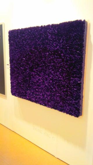 Purple fLower Bed by Zhuang Hong Yi