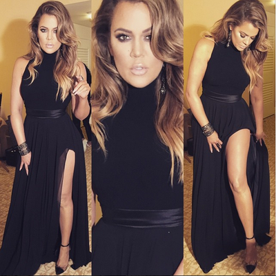 KHLOE KARDASHIAN IN THEIA