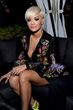 RITA ORA AT THE WARNER BROS 2015 GRAMMY PARTY