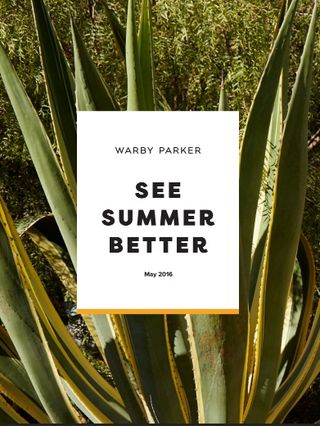 WARBY PARKER_SEE SUMMER BETTER CAMAPAIGN
