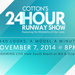Cotton's 24 Hour Runway Show Nov @ 8th & Ocean Drive