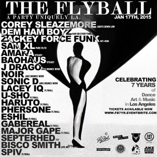 THE FLYBALL 7 YEAR ANNIVERSARY