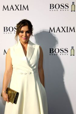 2015 Superbowl_The Maxim Party with HUGO BOSS Parfums _ALyssa Milano