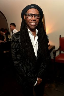 NILE ROGERS AT WARNER BROS 2015 GRAMMY PARTY