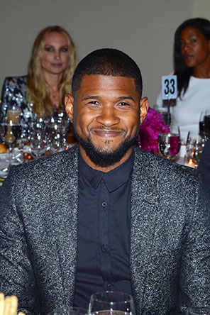 GORDON PARKS FOUNDATION GALA 2015_USHER