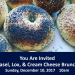 MIAMI:Art Basel, Lox & Cream Cheese Annual Art Basel Brunch, Sun, Dec. 10 @ Jewsih Museum of Florida