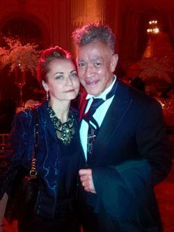 CASITA MARIA 2014_ANDRES SERRANO & WIFE