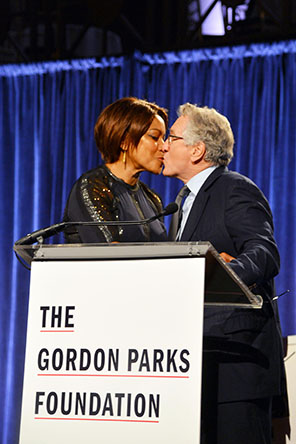 GORDON PARKS FOUNDATION GALA 2015_GRACE HIGHTOWER_ROBERT DENIRO