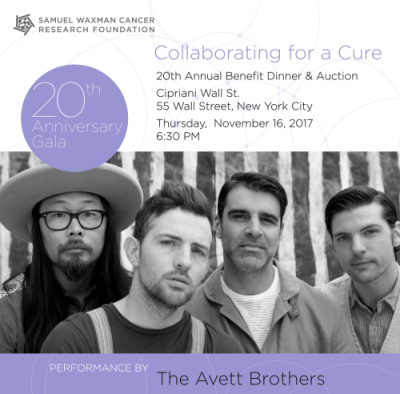 SAMUEL WAXMAN COLLABORATING FOR A CURE 20TH ANNIVERSARY