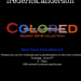NEW YORK: From Black and White to Colored by Frederick Anderson June 5 @ 552 7th Ave