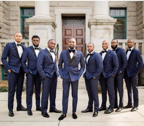 GROOMSMEN WEARING LOREN SPRATT