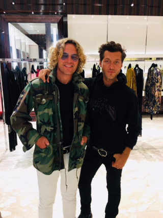 DUNDAS NEW YORK POP UP_PETER DUNDAS & EVANGELO BOUSIS