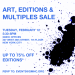 NEW YORK: Friends of ACRIA Art Sale Feb 12 @ GMHC