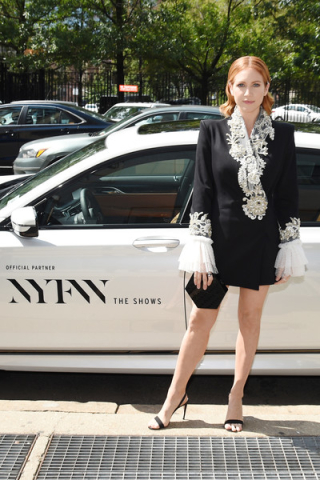 Brittany+Snow+BMW+NYFW+Shows