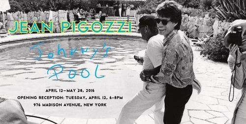 NEW YORK: Opening Reception for Jean Pigozzi's Johnny's Pool Apr 11 @ Gagosian