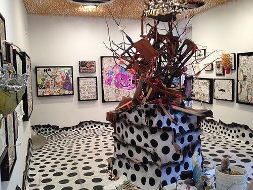 Greg Haberny Wrap UP Reception Oct 3 @ Lyons Weir Gallery