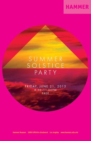 LOS ANGELES: Hammer Museum Sumemr Solstice Party June 21 @ Hammer Museum