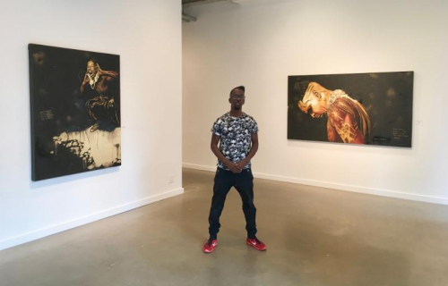 "NEW YORK: Fahamu Pecou ""#BLACKMATTERLIVES"" Oct. 13 @ Lyons Weir Gallery"