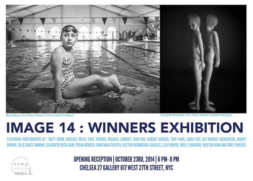 IMAGE14 Exhibition Oct 23 @ Chelsea 27 Gallery