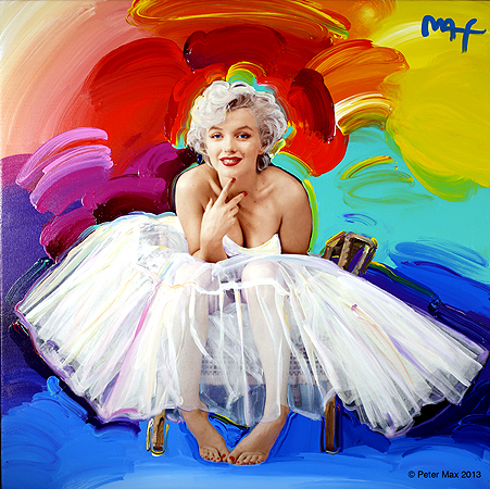Peter Max Marilyn Monroe Opening Reception Oct 22 @ Pop International Galleries
