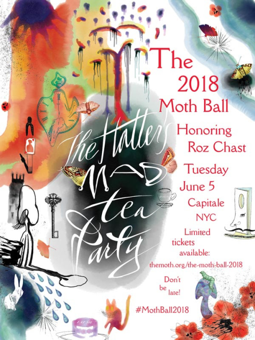 NEW YORK: The 2018 Moth Ball Jun 5  @ Capitale