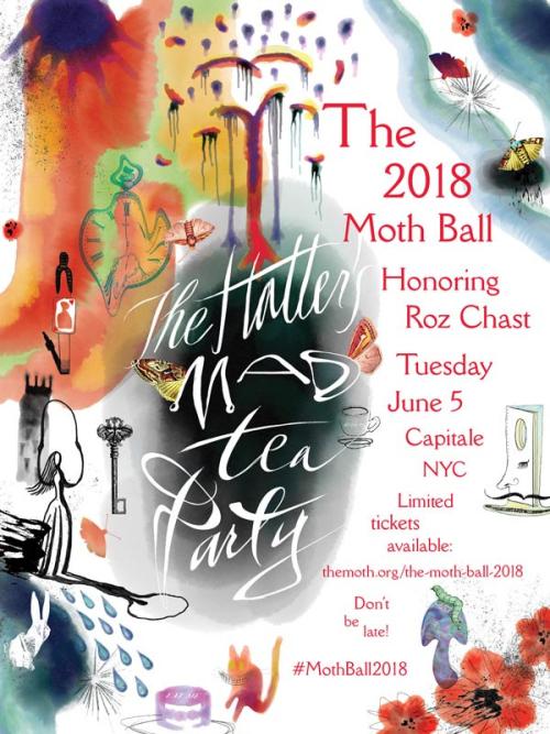 NEW YORK: The 2018 Moth Ball Jun 5  @ Capitale