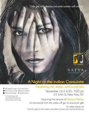 Satya-A Night at the Indian Consulate Nov 14 @ The Indian Consulate NY