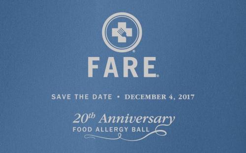 NEW YORK: 20th Anniversary FARE-Food Allergy Ball Dec 4th @ The Pierre