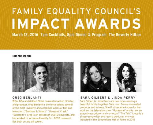 LOS ANGELES: Impact Equality Awards 2016 Mar 12 Beverly Hilton
