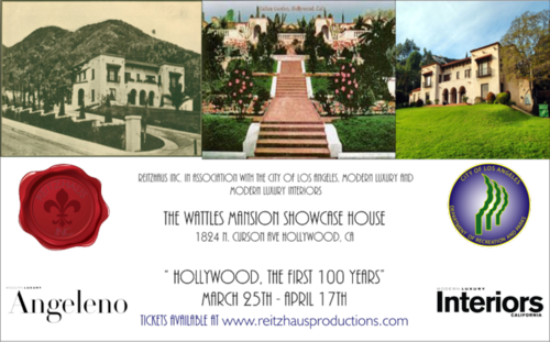 LOS ANGELES: Wattles Mansion Showcase  House Mar 27 @  Wattles Mansion