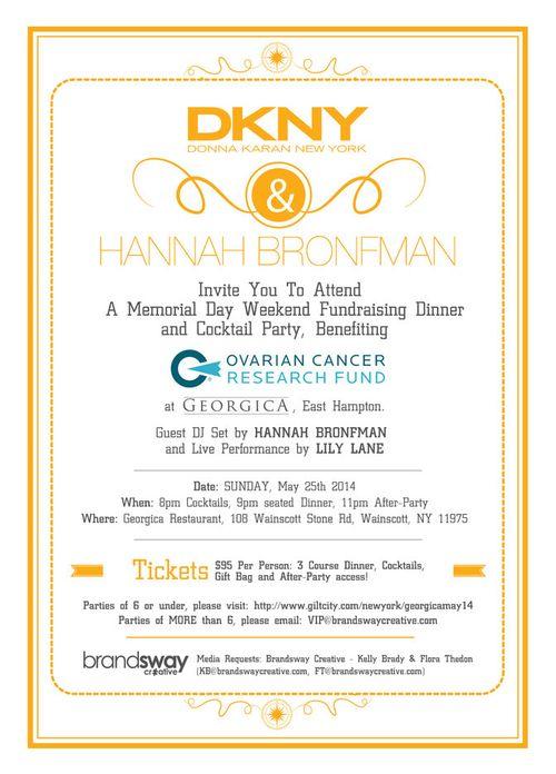 DKNY & Hannah Bronfman Memorial DayWkd 2014 May 25 @ Gerogica