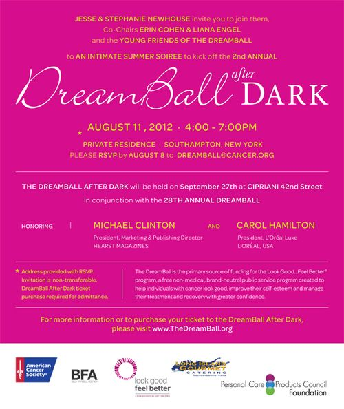 Dream Ball After Dark Cocktails  Aug 11 @ Private Residence