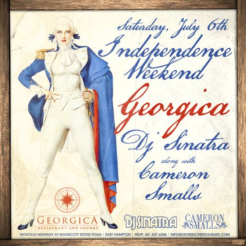 Independence Weekend, July 6 @ Georgica