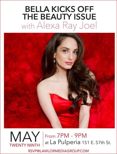 NEW YORK: Bella Kicks Off The Beauty Issue May 29 @ La Pulperia