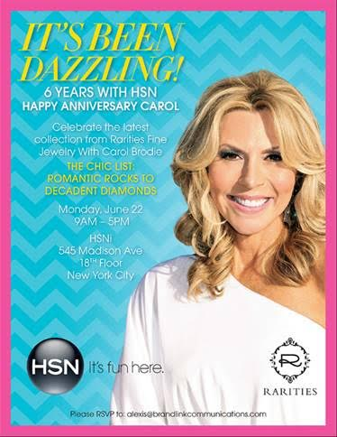 Carol Brodie Celebrates 6 Years w/ HSN June 22 @ HSN