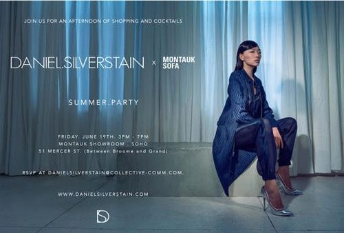 SAMPLE SALE & COCKTAIL PARTY:  June 19 @ Montauk Showroom in SoHo