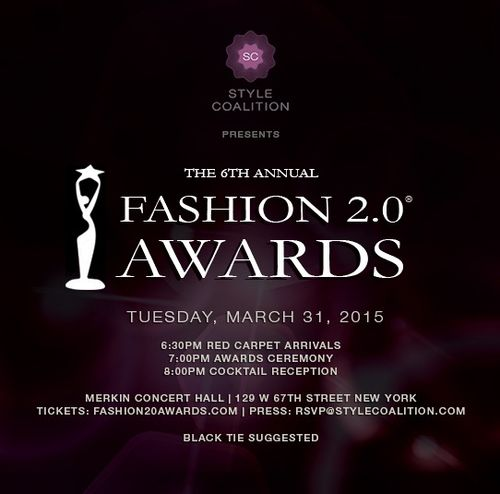 The 6th Annual Fashion 2.0 Awards Mar 31 Merkin Concert Hall