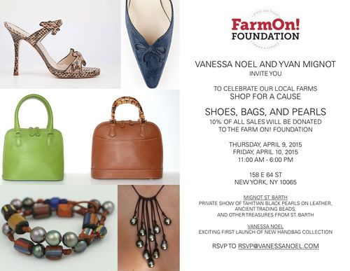 Shop for a Cause Apr 9 @ Vanessa Noel