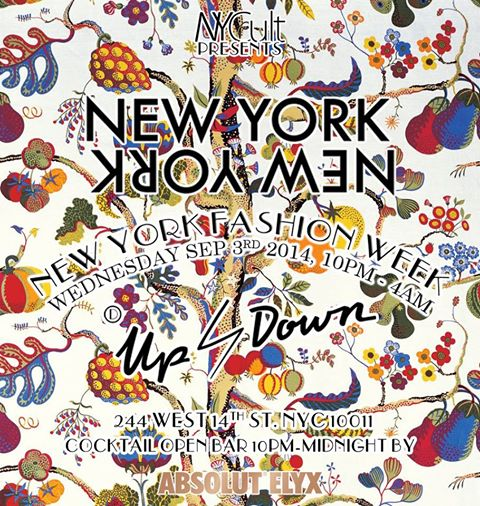 New York New York-NY Fashion Wk Pre-Party Sep 3rd @ Up & Down