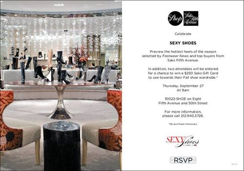 Christina's Style | Saks 10022 Shoe Salon Launched