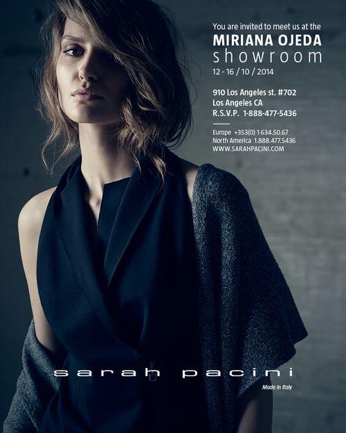 LOS ANGELES: Designer Sarah Pacini Oct 12-16 Miriana Ojeda  Showroom