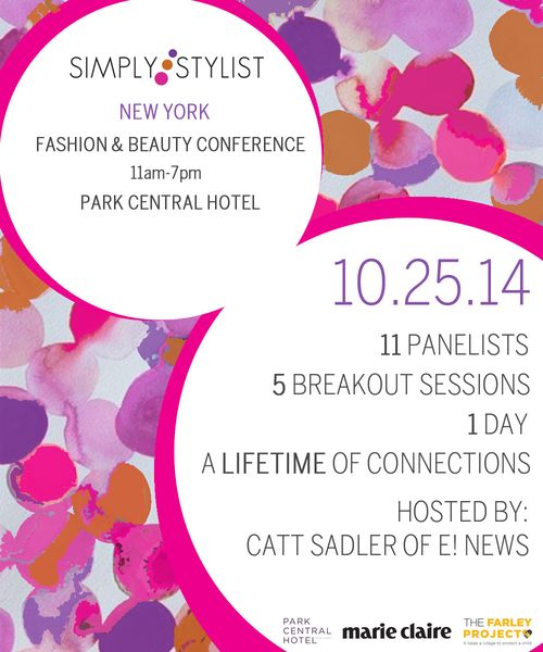 Simply Stylist New York 2014 Oct 25 @ Park Central Hotel