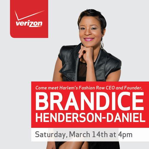 Verizon NYC Fashion City Session w/Harlem Fashion Row Mar 14 @ Dwyer Cultural Center