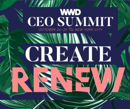 NEW YORK: WWD CEO Summit 2017 Oct 24 - 25 @ TBA