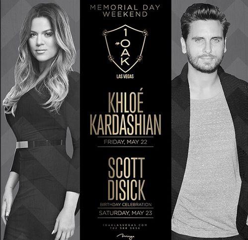 events las vegas memorial wkd khloe kardashian hosts scott
