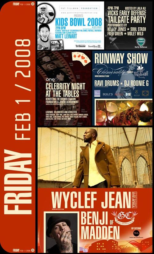 Wyclef Jean Performs Feb 1st @ 944 Village, Scottsdale Waterfront-AZ