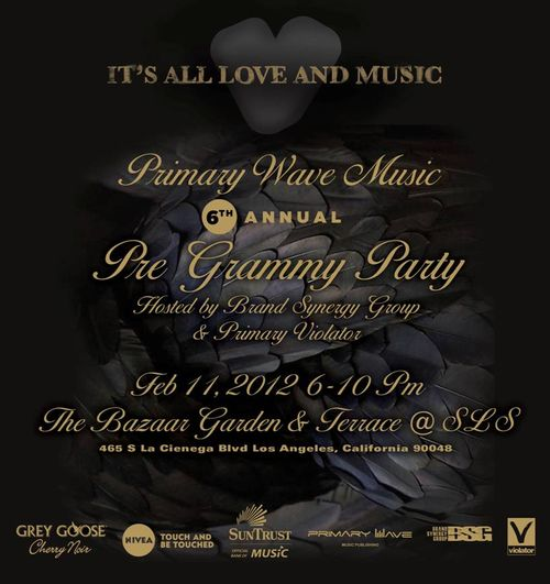 6th Annual Primary Wave Music Pre-Grammy Party Feb11 @ SLS Hotel